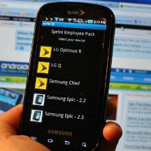 Sprint's Employee ID pack spills the LG Q, Motorola Sunfire, Samsung Chief and LG Optimus B