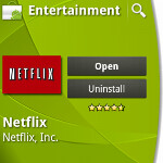 Motorola DROID X now supports Netflix app