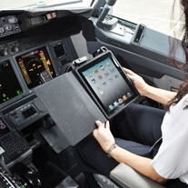 American Airlines will use an iPad app in lieu of navigation charts