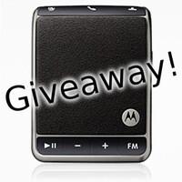 Giveaway: Motorola Roadster Bluetooth In-car speakerphones!