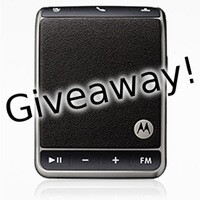 Giveaway: Motorola Roadster Bluetooth In-car speakerphones!