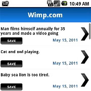 Wimp video database scores a neat and tidy Android app