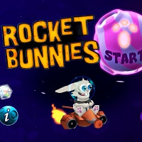 Rocket Bunnies for iOS Review: rocket-propelled rabbit in space