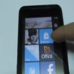 Snapdragon pioneer Toshiba TG01 is seen running Windows Phone 7