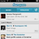 Foursquare hits the 10 million users milestone; releases new version for iOS