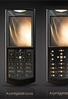 Avantgarde: Gold in WM Smartphones by Gresso