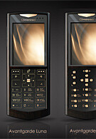 Avantgarde: Gold in WM Smartphones by Gresso