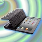 Specks's CandyShell Wrap case for the iPad 2 combines protection & smart cover function