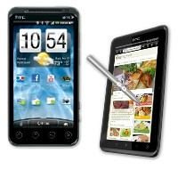 HTC EVO 3D and HTC EVO View 4G officially launch on Sprint today