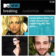 MTV News hits the WP7 Marketplace