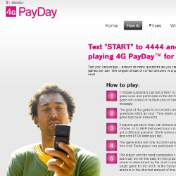 T-Mobile launches $4000 a day trivia game, plus the weekly chance to win an Audi Q5