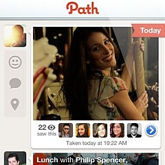 Path photo sharing app beta comes to BlackBerry