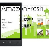 AmazonFresh lets you do your grocery shopping on your phone, app exclusive on Windows Phone