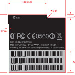 GSM version of the HTC EVO 3D with T-Mobile AWS frequencies visits the FCC