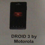 Motorola DROID 3 gets official specs and accessories list leaked