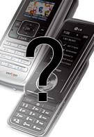 LG VX8800 and VX10000