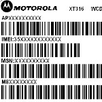 Smaller version of the Motorola DROID Pro, the XT316, repeats FCC visit with AT&T bands on board