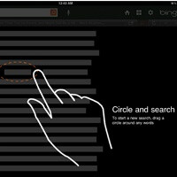 """Bing brings """"Lasso"""" to iPad, circle words to search"""