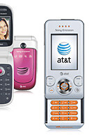 AT&T offers budget clamshell and W580 Walkman from Sony Ericsson