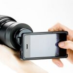 Use your Canon or Nikon SLR lenses on your iPhone with this mount