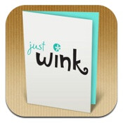 justWink for iOS covers greeting cards, from heartfelt to sassy