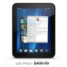 HP TouchPad prices slashed on Amazon, Best Buy