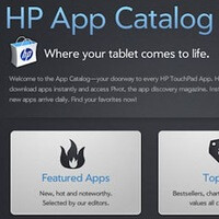 App Catalog for the HP TouchPad gets a minor update