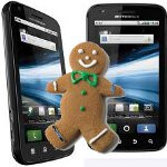 Gingerbread update for the Motorola ATRIX 4G is being sent out to testers