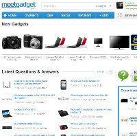 Meet Gadget is our gadget site