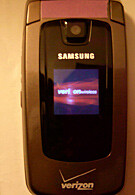 Samsung U550 is for Verizon