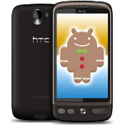 HTC Desire gets updated to Gingerbread, but not really
