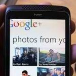Snapshot possibly shows off the Google+ app for Windows Phone 7