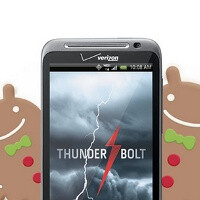 HTC ThunderBolt getting Gingerbread this quarter
