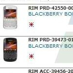 White BlackBerry Bold 9900 quietly pops up in a T-Mobile Hungary reseller slide