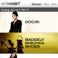 MYHABIT for iOS app offers