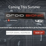 Verizon's Motorola DROID Bionic teaser site is turned on; register your email to receive timely updates