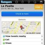 Minor update for the BlackBerry Foursquare apps packs improved BBM integration