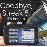 Dell says goodbye to the Streak 5 and that