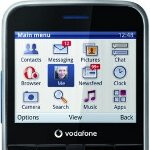 Facebook friendly Vodafone 555 now on sale