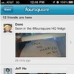 Update optimizes the Foursquare app for iPhone to offer photo viewing within streams