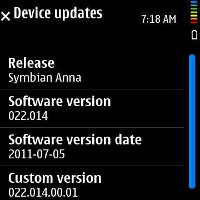The Symbian Anna update rolling out for the Nokia N8, C7, E7 and C6-01