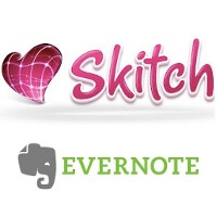 Evernote goes shopping, popular image editing app Skitch is the first stop