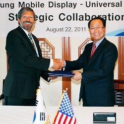 Samsung inks an OLED licensing deal with Universal Display