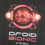 Motorola DROID BIONIC shirts are here; video shows the DROID BIONIC in action