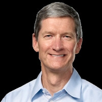 Tim Cook speaks, sends