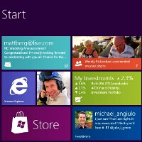 Windows 8's traditional desktop to be a separate app, the touch-optimized Metro style UI takes over