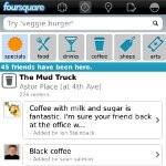 Foursquare for BlackBerry gets a slight makeover and new features with its latest update
