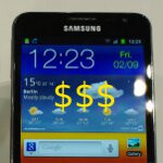 Samsung GALAXY Note is rumored to be priced in between the Galaxy S and Galaxy S II