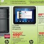 HP TouchPad is featured in Staples upcoming sales flyer; still priced at $499.99 though