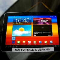 Samsung Galaxy Tab 7.7 pulled from IFA 2011 because of a new Apple injunction against it